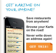 Get KartMe on your iPhone