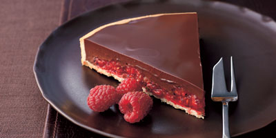Michel Roux Jnr S Bitter Chocolate Tart With Raspberries