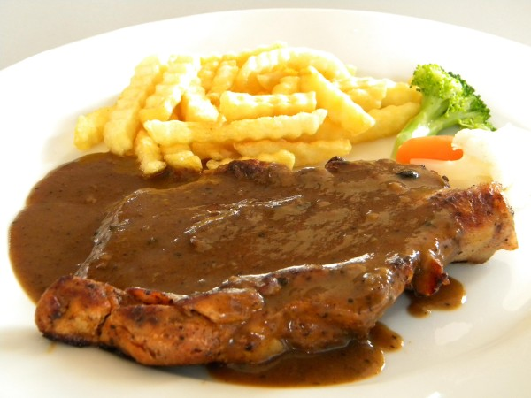 Black Pepper Chicken Chop Keeprecipes Your Universal Recipe Box