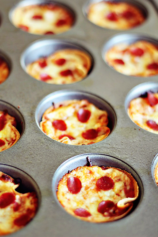 Mini Deep Dish Pizzas Keeprecipes Your Universal Recipe Box