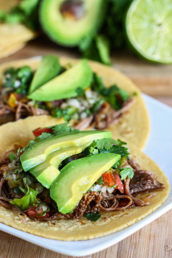 Crock Pot Beef Carne Asada Tacos Keeprecipes Your