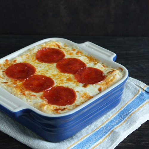 Pepperoni Pizza Cauliflower Casserole (Low Carb and Gluten ...