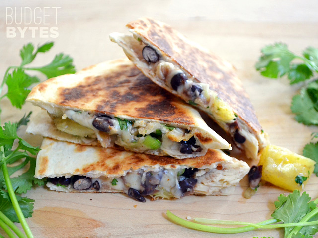 Chicken & Pineapple Quesadillas | KeepRecipes: Your ...