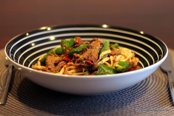 asiatisches paprika rindfleisch mit schwarze bohnen sauce keeprecipes your universal recipe box. Black Bedroom Furniture Sets. Home Design Ideas