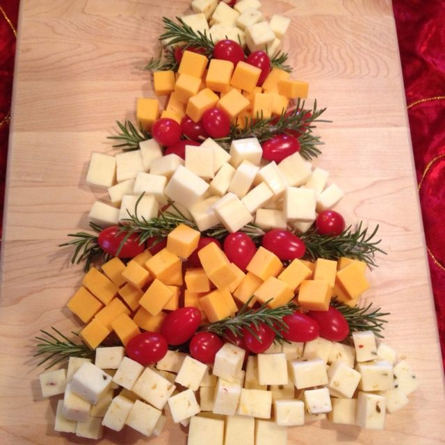 Christmas Tree Cheese Platter Keeprecipes Your
