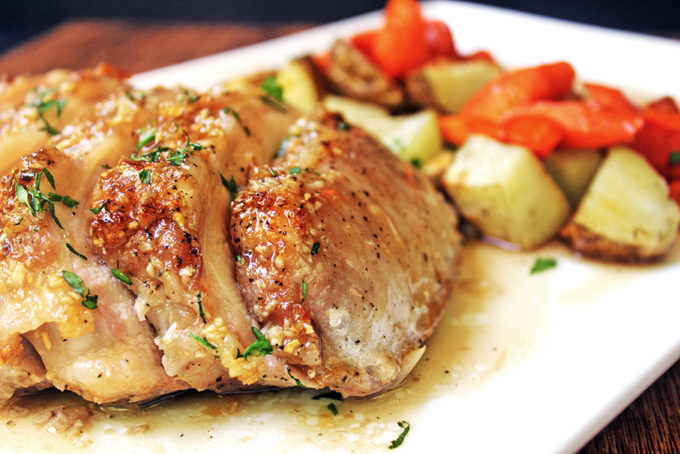 Brown Sugar Garlic Pork With Carrots Amp Potatoes Keeprecipes Your Universal Recipe Box