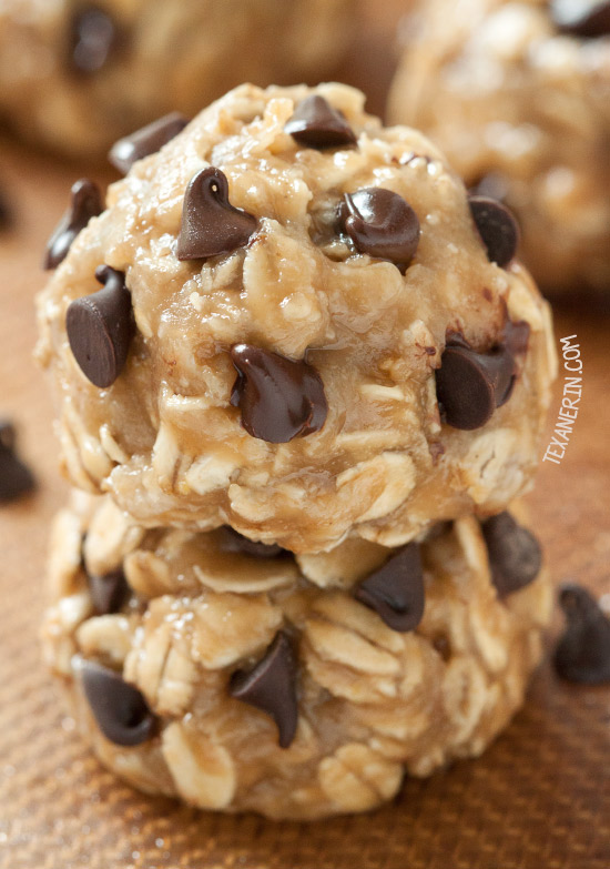 No Bake Peanut Butter Chocolate Chip Cookies Keeprecipes Your Universal Recipe Box