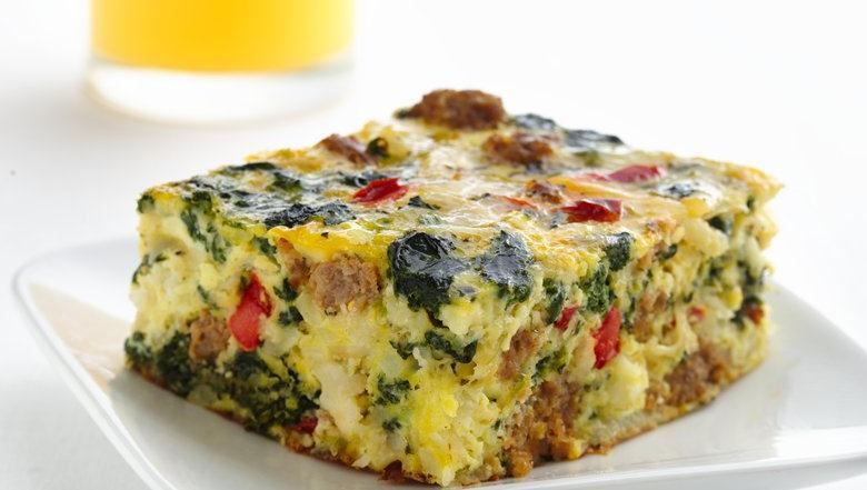 Healthified Italian Sausage Egg Bake Keeprecipes Your