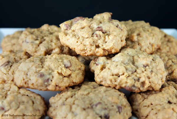 Chewy Oatmeal Chocolate Chip Cookies And A Winner Keeprecipes