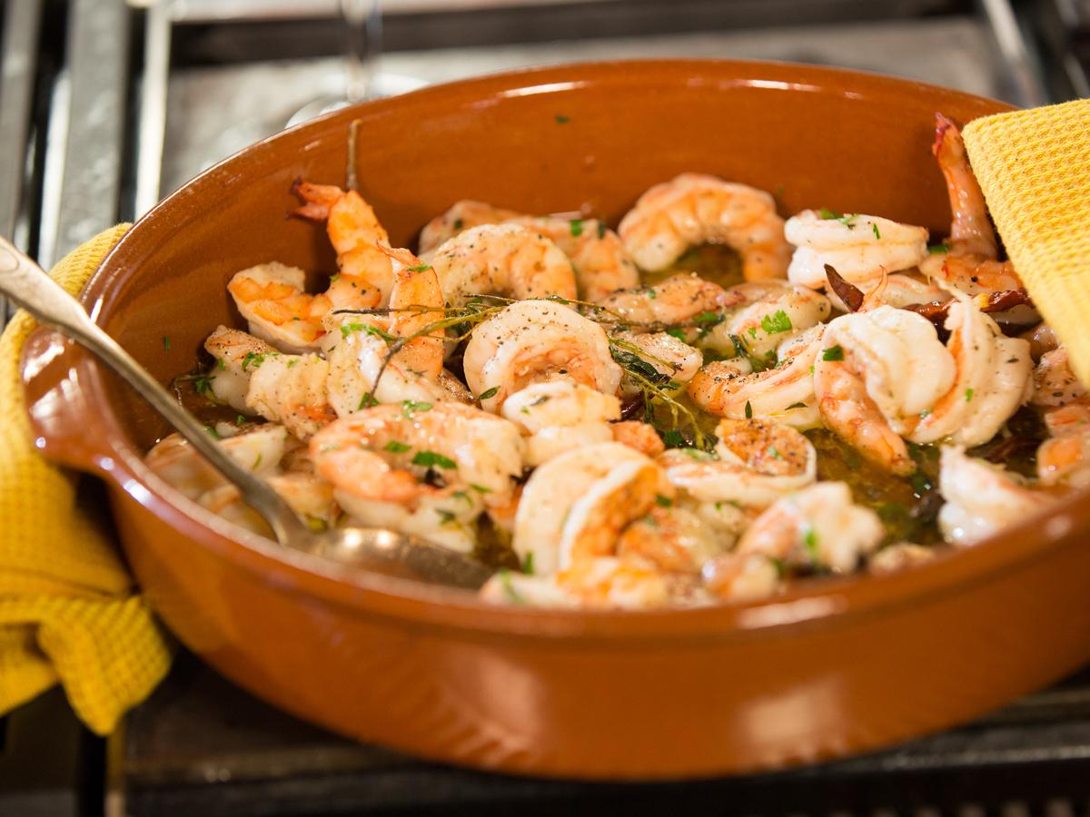 Roasted shrimp in cazuela keeprecipes your universal recipe box forumfinder Gallery