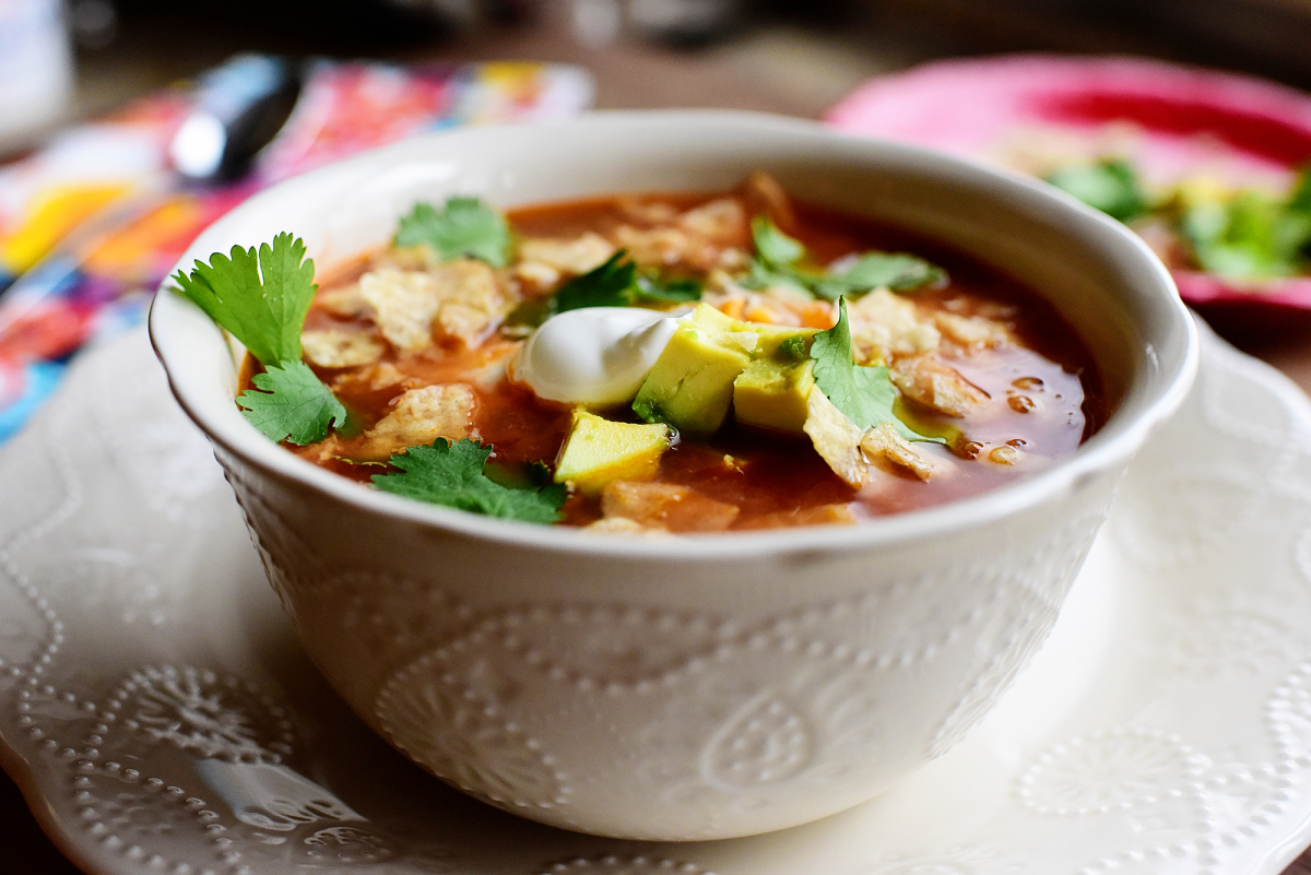 Slow Cooker Chicken Tortilla Soup | KeepRecipes: Your ...