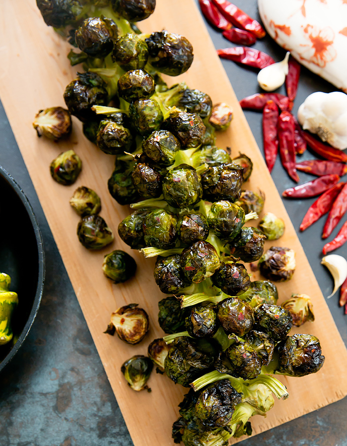 Garlic Brussel Sprout Recipes Roasted