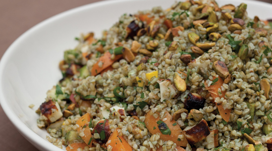 how to cook freekeh with chicken