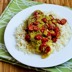 Foil-Wrapped Grilled Tilapia Packets with Pesto, Tomatoes ...