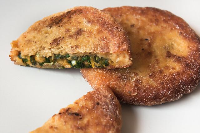 Kale Chips Recipe Oven Rachael Ray fried polenta ba...