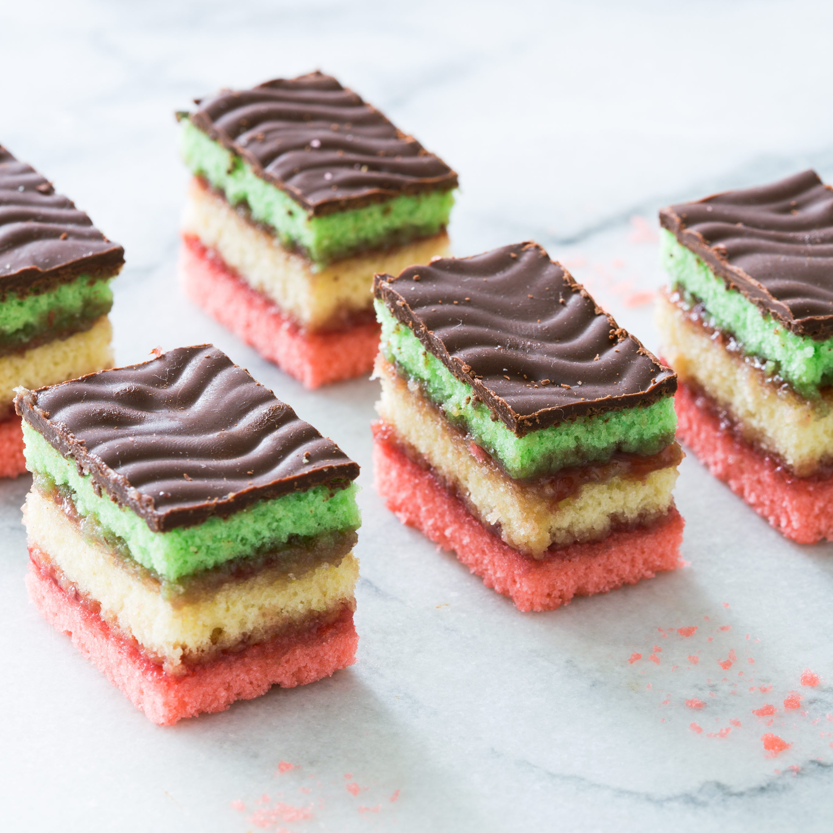 Italian Rainbow Cookies Recipe Keeprecipes Your
