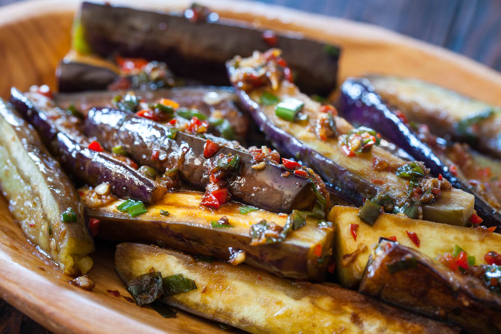 Chinese Eggplant With Spicy Garlic Sauce Keeprecipes