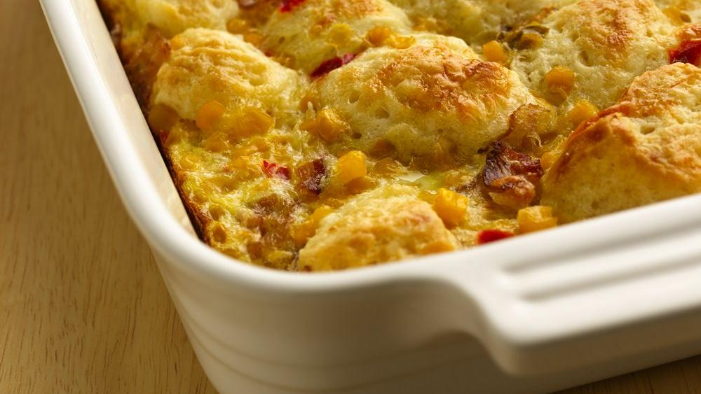 Bacon N Egg Biscuit Bake Recipe From Pillsbury Com Keeprecipes Your Universal Recipe Box