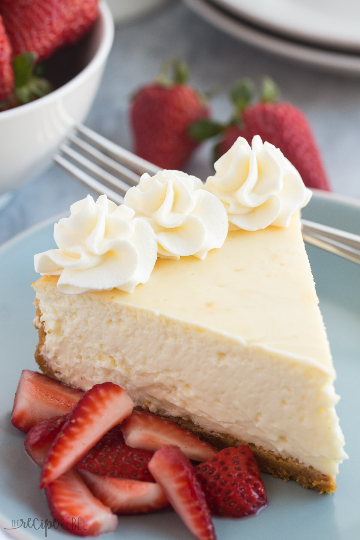 The Best Baked Vanilla Cheesecake Recipe Video Keeprecipes Your Universal Recipe Box