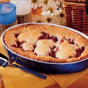 Sour cherry pudding cake recipe