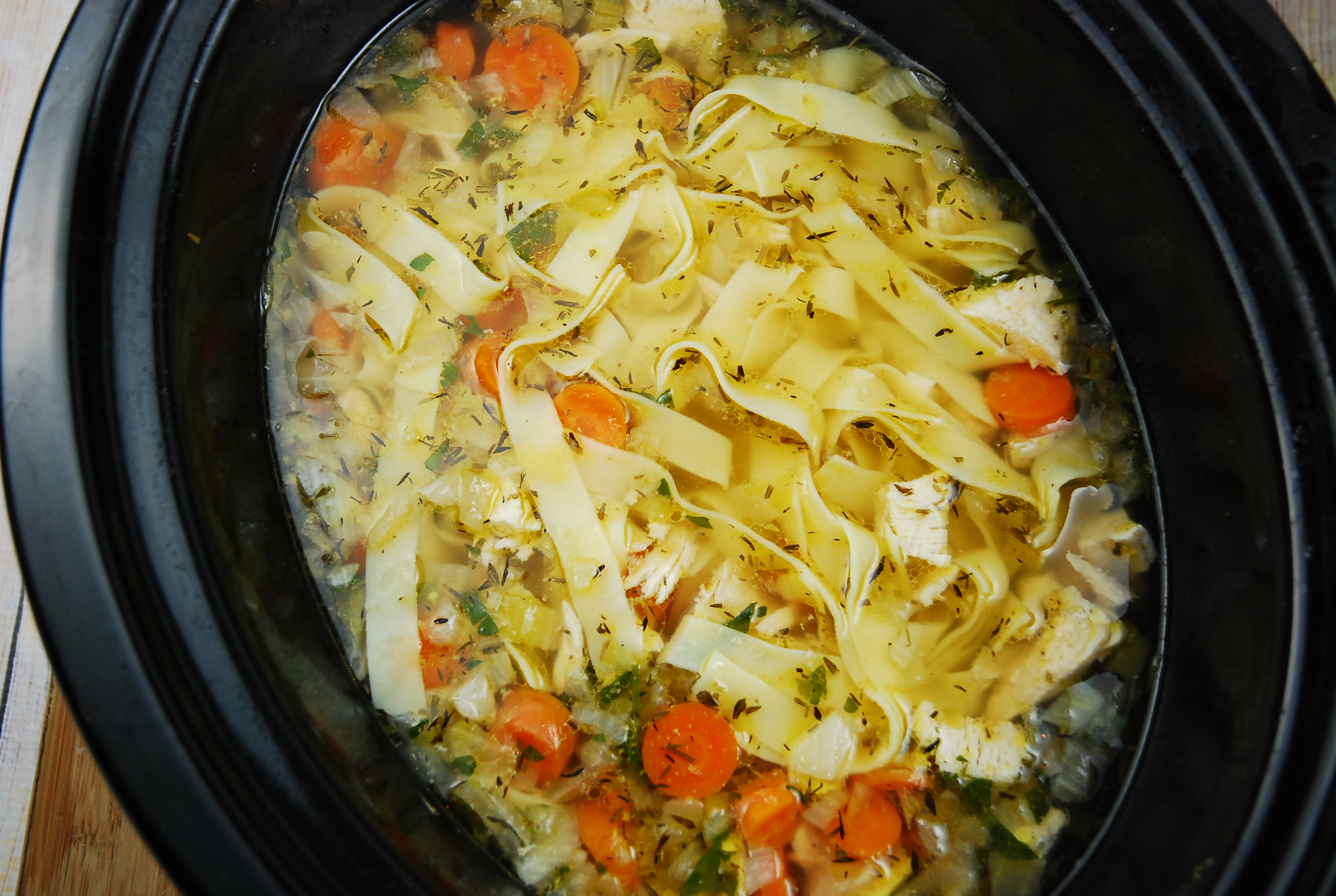 Crock Pot Chicken Noodle Soup Recipe *4* | KeepRecipes: Your Universal Recipe Box