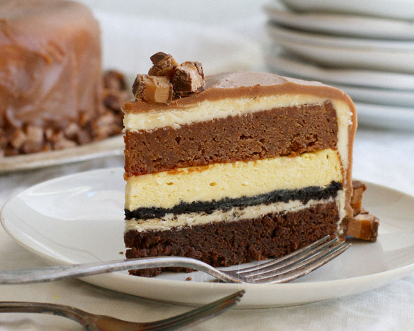 Baileys Dark Chocolate Cheesecake