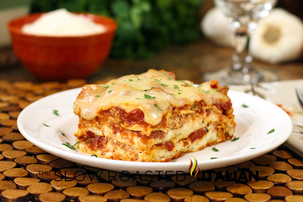 40 Minute Quick And Easy Cheesy Meat Lasagna Keeprecipes Your Universal Recipe Box