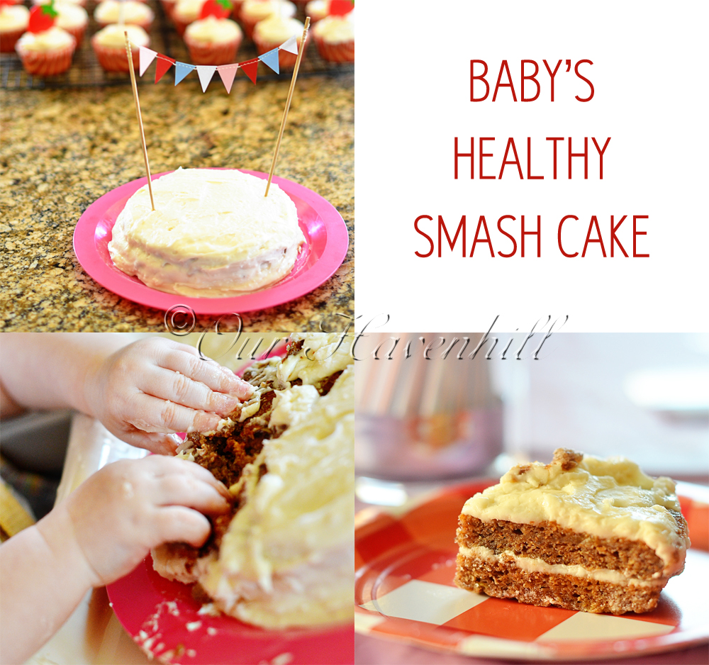 Healthy Smash Cake for Babys 1st Birthday KeepRecipes Your