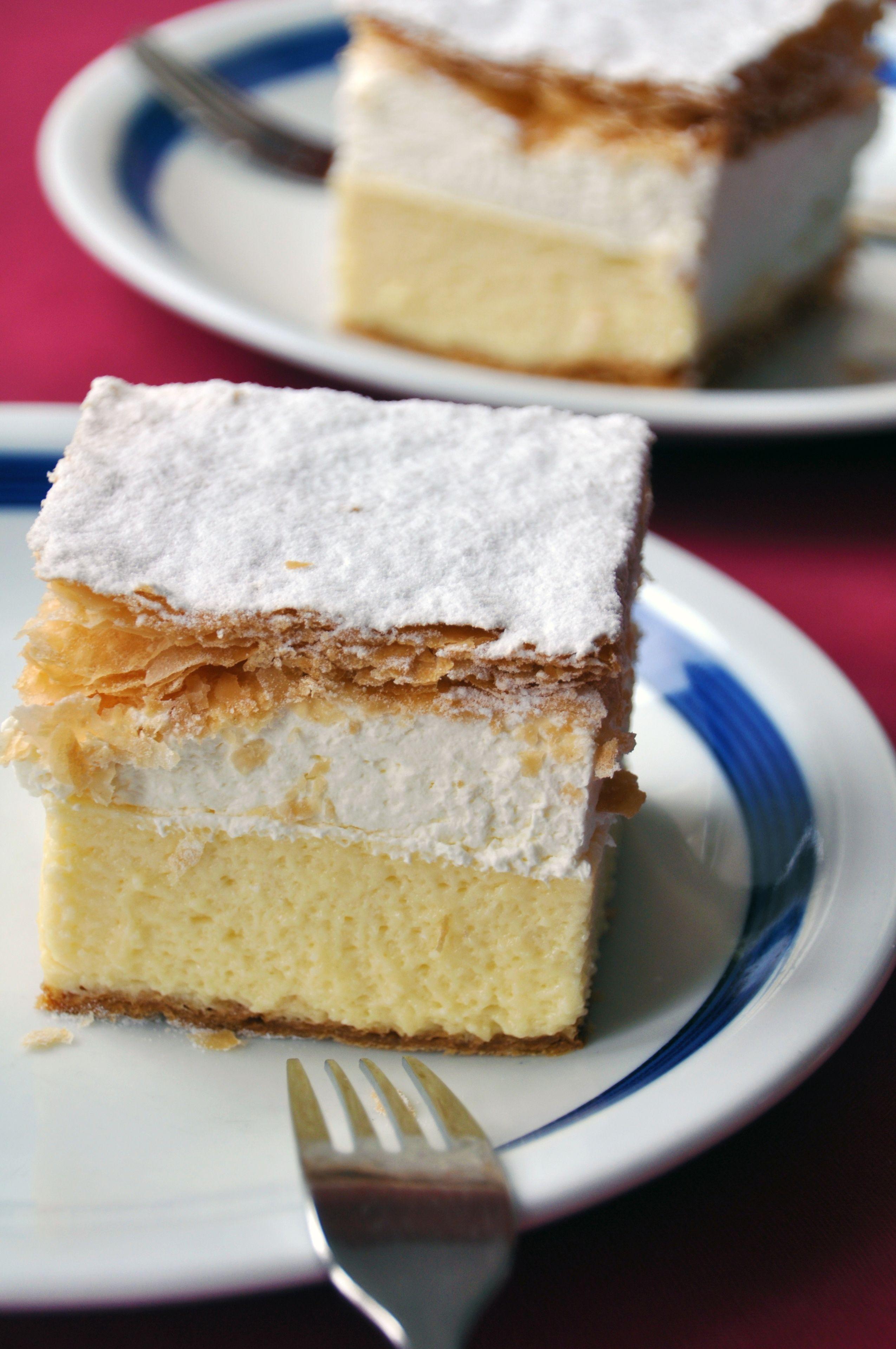 Kremna Rezina Vanilla Custard Cream Cake Keeprecipes