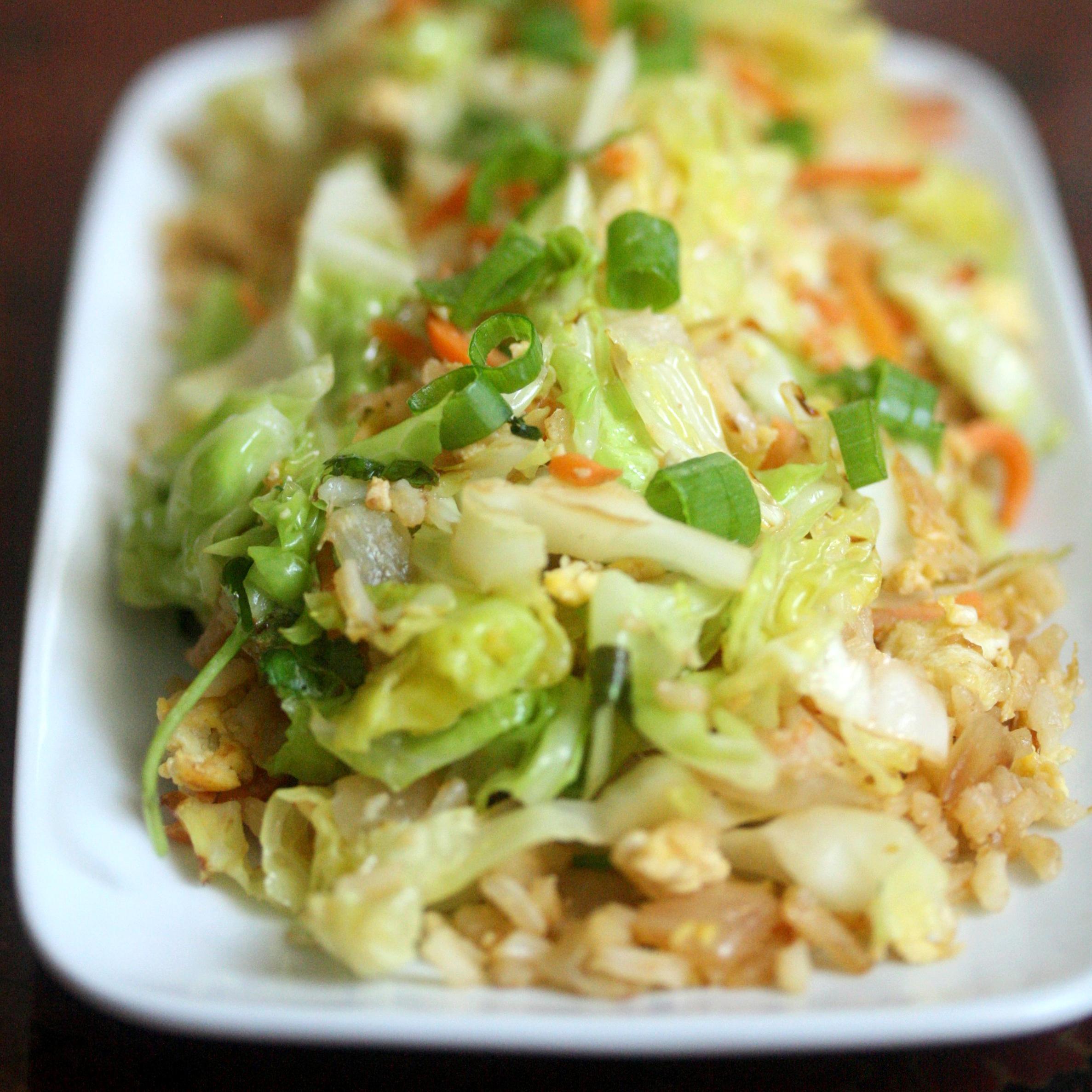 Cabbage Fried Rice Recipe Keeprecipes Your Universal Recipe Box