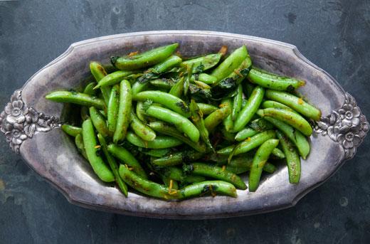 Seared Sugar Snap Peas Recipe | KeepRecipes: Your Universal Recipe Box