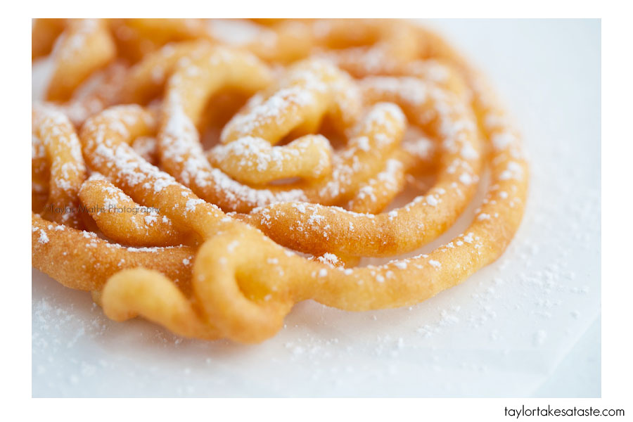 Desserts: Mini Funnel Cakes/ | KeepRecipes: Your Universal Recipe Box