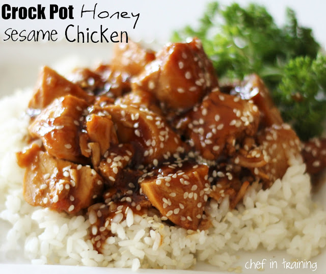 Asian: Honey Sesame Chicken Crock Pot