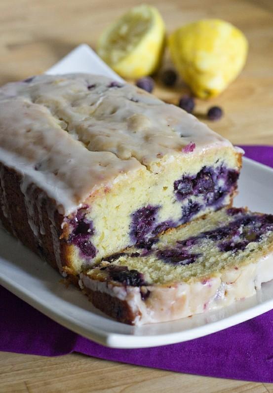 Desserts Lemon Blueberry Bread Keeprecipes Your Universal Recipe Box