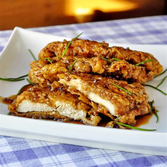 Chicken Double Crunch Honey Garlic Breasts