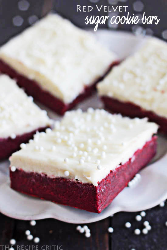 Cookies Red Velvet Sugar Cookie Bars With Cream Cheese Frosting
