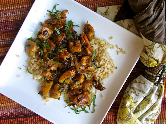 Asian Spicy Thai Basil Chicken Keeprecipes Your Universal
