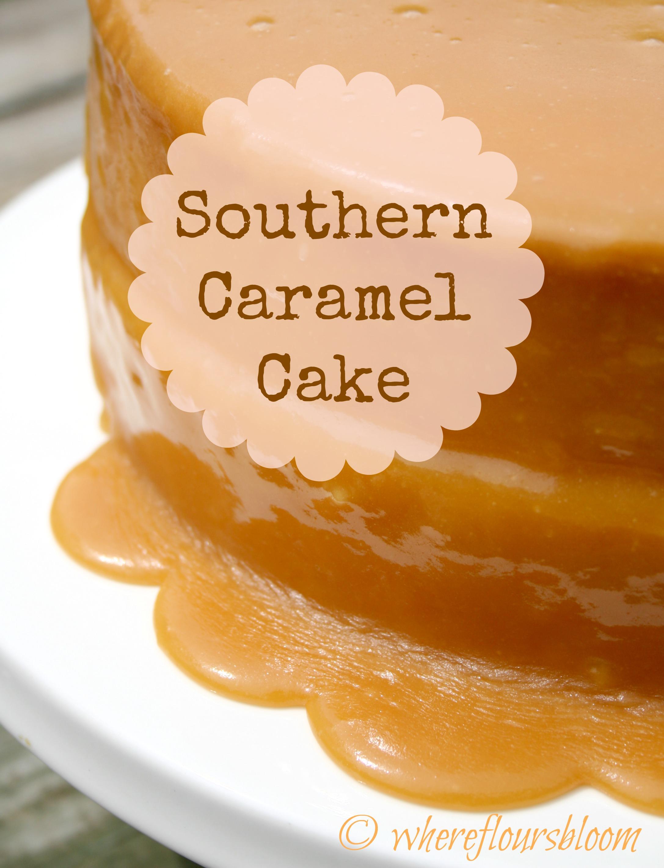 how to make caramel icing