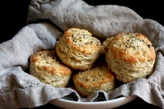 Cacio e pepe biscuits recipe on food52 keeprecipes your for Table 52 biscuit recipe