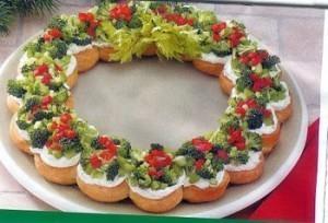 Christmas Wreath Appetizer Recipe From Easy Appetizer Recipes Com Keeprecipes Your Universal