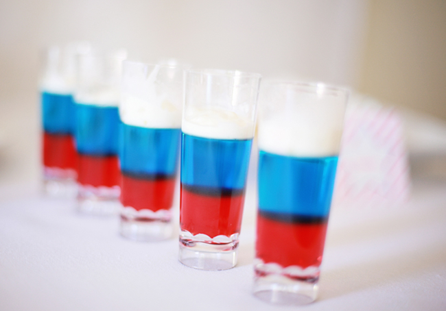 Red Blue White Jello Shots Keeprecipes Your Universal