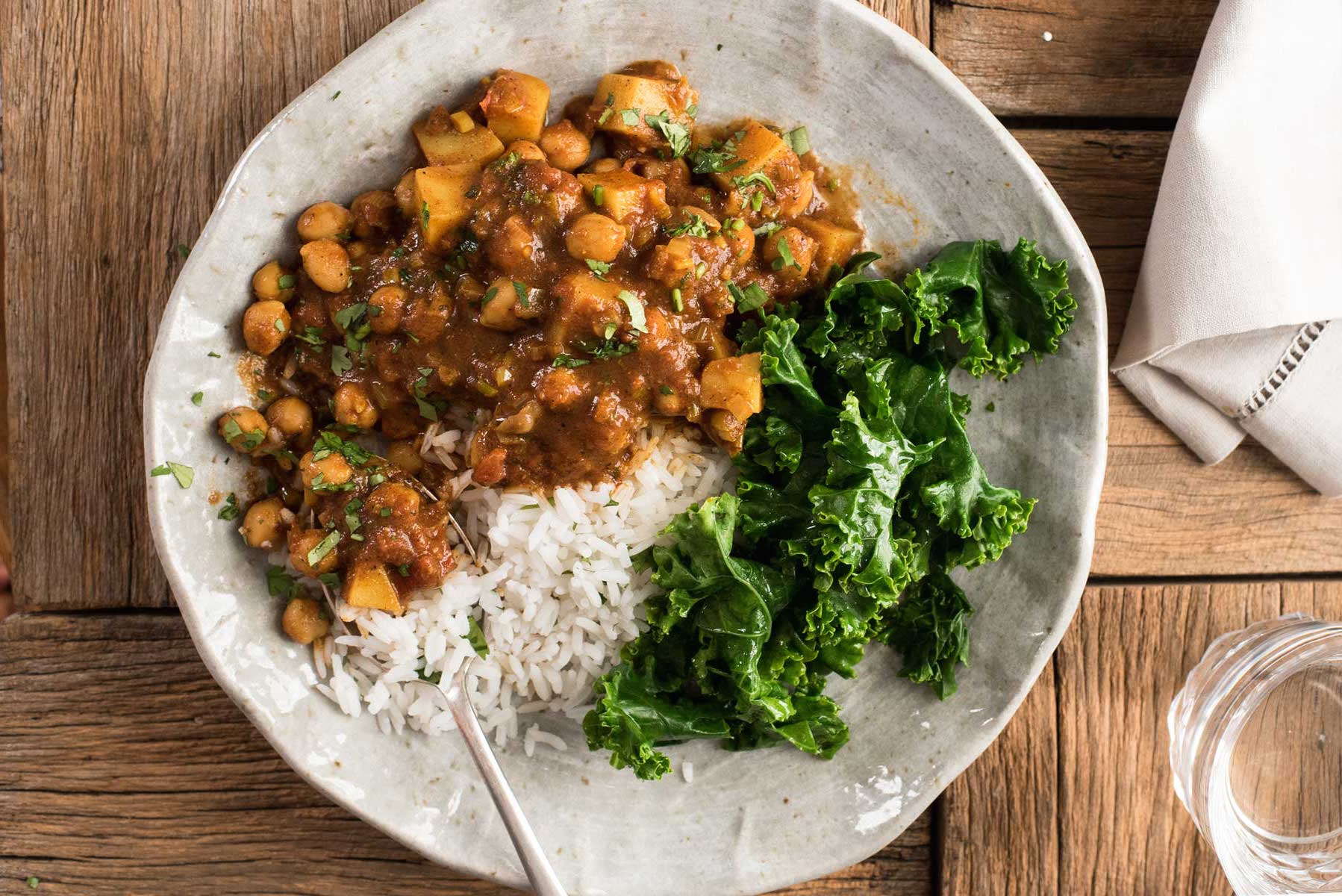 Easy chickpea potato curry chana aloo curry keeprecipes easy chickpea potato curry chana aloo curry keeprecipes your universal recipe box forumfinder Images
