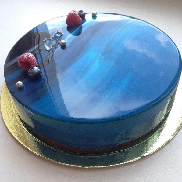 The Secret Of The Mirror Glaze For The Cake Keeprecipes