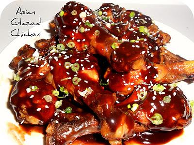 Asian chicken drumstick recipe something