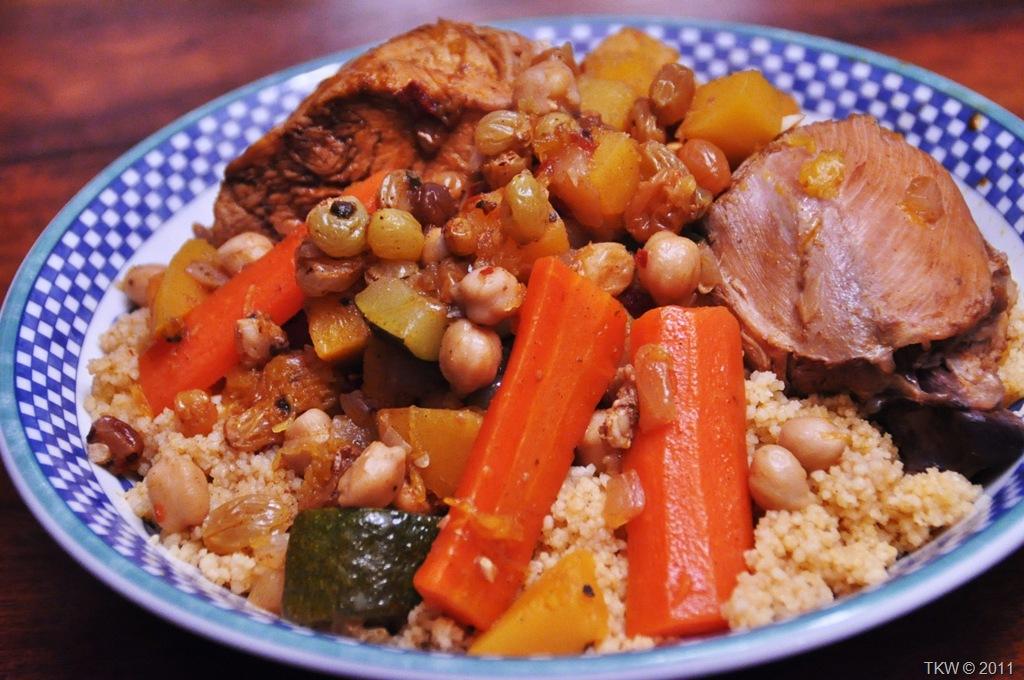 Tunisian Couscous Keeprecipes Your Universal Recipe Box