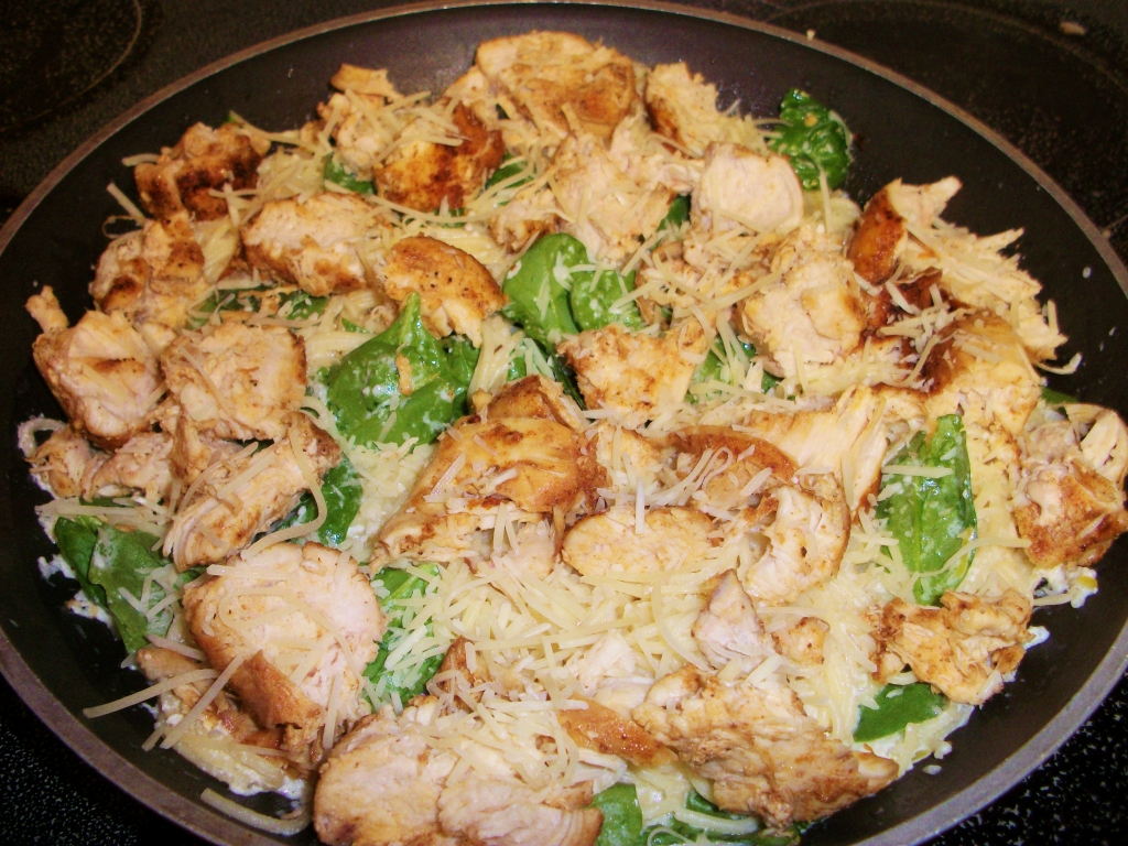 Lemon Angel Hair With Chicken And Spinach Keeprecipes Your