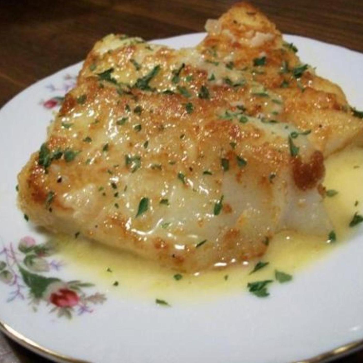Lemon Butter Baked Cod Recipe Keeprecipes Your Universal Recipe Box