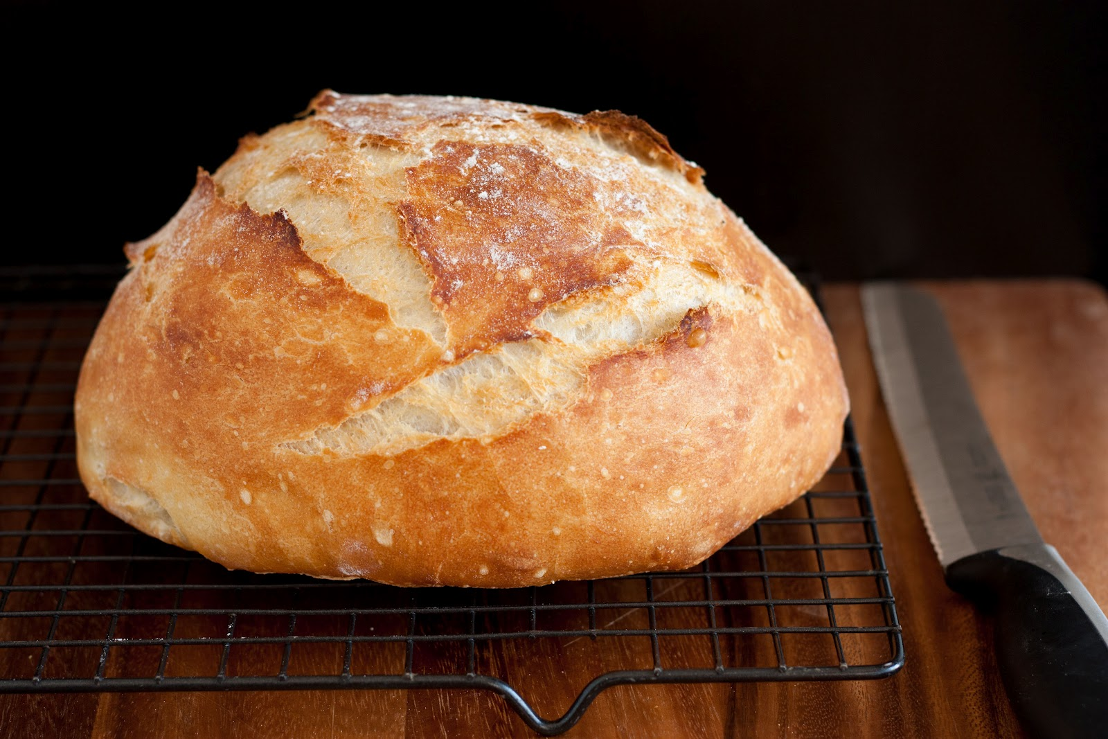 Crusty Rustic Bread It S No Knead Keeprecipes Your