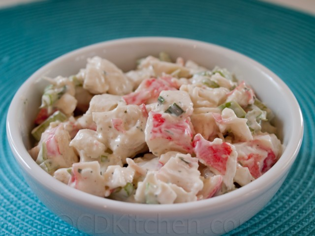 Golden corral crab salad recipe from for Fish salad recipes