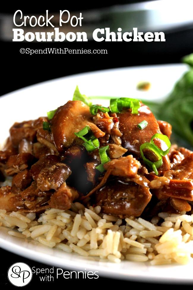 Bourbon Chicken Crockpot Recipe Keeprecipes Your Universal Recipe Box